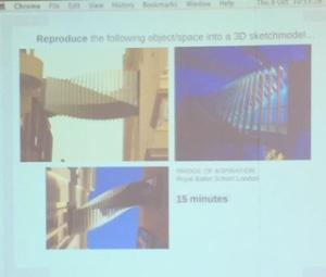 The image shown - Bridge of Inspiration, London.