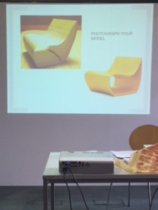 This is the image which the class then had to reproduce